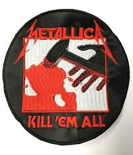 METALLICA KILL'EM ALL CIRCLE   EMBROIDERED  PATCH