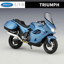WELLY 1:18 Scale Diecast Motorcycle Model Collections - TRIUMPH 2002 TROPHY