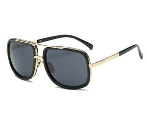 Men Square Sunglasses Oversized Driving Fashion Designer Celebrity Women Glasses