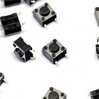 20PCS 6×6×4.5mm Tact Tactile Push Button Switch SMD-4Pin