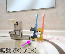 Cutest Original Shiba Inu Dog Toothbrush Holder Stand Bathroom Japan Product