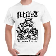 Nihilist Premature Autopsy Entombed Unleashed Morbid Death Retro T Shirt 31