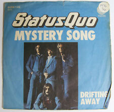 STATUS QUO Mystery Song Ex Drifting Away West Germany 1976 P/S 7""