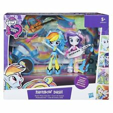 "My Little Pony Equestria Girls Minis Rainbow Dash Rockin ""music set di classe"