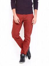 Pantalone Jack & Jones Premium  Casual Arancione Uomo Strech Taglia 47 (W33 L32)