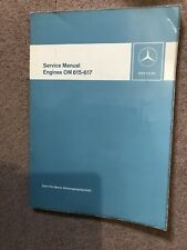 Workshop Manual Mercedes Diesel Engines Om 615 - 617 English