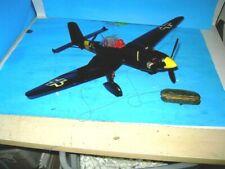 OLD COX .049 GAS CONTROL LINE STUKA JU87D MODEL AIRPLANE