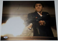 AL PACINO Signed 11x14 Scarface Movie Tony Montana Firing M16A1 Photo PSA/DNA