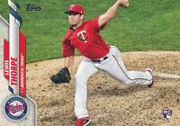 Lewis Thorpe 2020 Topps Series 1 #97 Twins RC Rookie Baseball Card