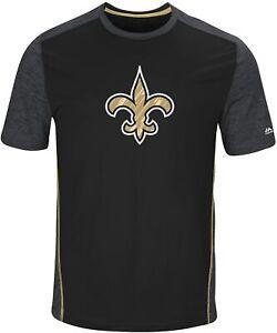 New Orleans Saints Men's Unmatched Cool Base Performance T-Shirt - Black