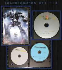 Transformers Movie DVD Blu ray Collection Trilogy 1-3 Revenge Fallen Dark Moon