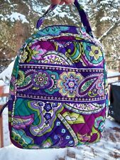 VERA BRADLEY Lunch Bunch Bag School Office Travel Heather FREE SHIPPING