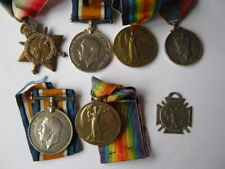 WWI family group to Spr and 2/Lt including George VI Imperial Service Medal