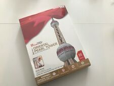 New Sealed Cubic Fun 3D Puzzle Oriental Pearl Tower