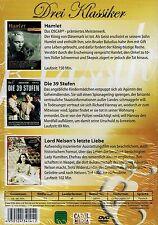 DVD - Drei Klassiker - Hamlet / Die 39 Stufen / Lord Nelson's letzte Liebe