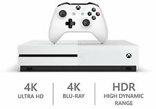 MICROSOFT XBOX ONE S CONSOLE - 1TB WHITE - PRE-OWNED - FREE UK POST
