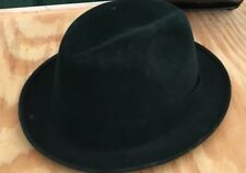 The Sovereign Stetson Fedora Black Hat Size 7