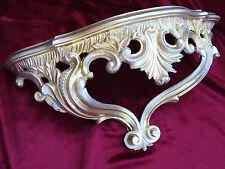 accessori console parete oro argento barocco REPRO 38x20x15,5 cmwandspiegel 811