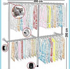 Begehbarer Kleiderschrank Kleiderstange Gardeobenständer Kleiderständer Art.W.09
