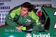 Alessandro Zanardi Jordan F1 Portrait 1991 Photograph 3