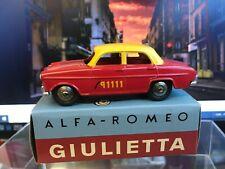 Alfa Romeo Giulietta 'Bern Taxi' (Hachette Mercury Collection)