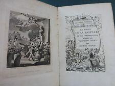 Prise Bastille documents inédits 1881 EO N° Hollande ex libris Dunan Pt Napoléon