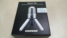 Samson - Meteor USB Microphone With Noise Cancellation Software