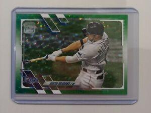 Carte de Baseball Topps - Austin Meadows Green Ice /499 - Tampa Bay Rays