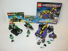 Lego Space Police Bundle 5982-6813-6852 Complete w/ Manuals