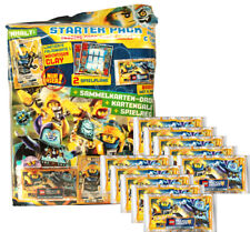 LEGO Nexo Knights 2 - Trading Cards - 1 Starter + 10 Booster - Deutsch