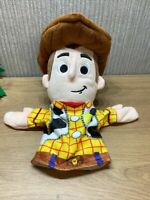 """Disney Pixar Toy Story Woody Plush Hand Puppet Andy 10"""" Soft Toy Collectable"""