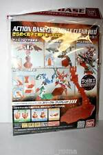 ACTION BASE 2 MODELLO SPARKLE CLEAR RED BASE MOBILE SUITE DA MONTARE BANDAI