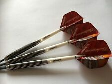 APACHE BUDWEISER 28g TUNGSTEN Darts Set, Unicorn Grippers & BUDWEISER Flights