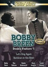 Bobby Breen Double Feature #1 DVD 2006 New Let's Sing Again Rainbow on the River