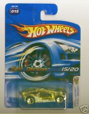 Hot Wheels 2005 First Edition FE 015 Split Decision Bronze Yellow 5sp