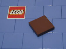 Lego 3068b 2x2 Reddish Brown Tile With Groove X 5 NEW