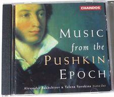 Music from the Pushkin Epoch Bakhchiyev Sorokina CD
