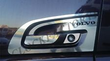 Set of 2 Handle Doors For New VOLVO FH4 Made of Polished Mirror Stainless Steel