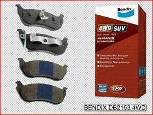 Jeep - Wrangler JK 2007 - 2018 NEW BENDIX Rear Brake Pads Set