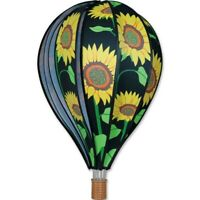 "Sunflowers 22"" Hot Air Balloon Wind Spinner Premier"