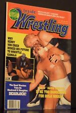 Inside Wrestling Magazine July 1985