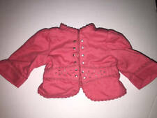 "Nicki Jacket American Girl 18"" Doll Retired Gala Shirt Pink"