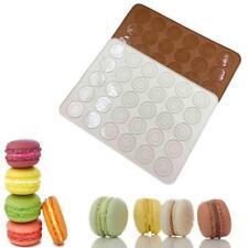 30 Kavitäten Silikon Macaron Back Mats Bakeware Non Stick Makronen Tray 1 Stück