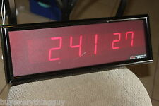 brg precision brg625-en-p0812-b1-f1 digital led display rare -as pictured