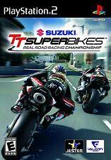 NEW Suzuki TT Superbikes Real Road Racing Championship PS2 SEALED Playstation 2