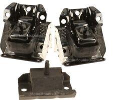 9M1102 3pc Motor Mounts fit 5.3L 6.0L 6.2L 2007 - 2013 GMC Sierra 1500 RWD Truck