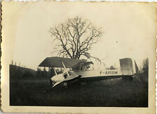 PHOTO ANCIENNE - VINTAGE SNAPSHOT - AVION CRASH ACCIDENT PÉRIGUEUX - PLANE 1