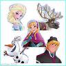 Frozen Shaped Stickers x 10 - Elsa/Anna/Olaf/Kristoff/Sven - Birthday Favours