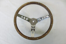 1960's 1970's Pontiac Chevy Ford SUPERIOR GRANT STEERING WHEEL Wood Walnut
