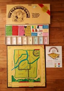 VTG 1979 The Farming Game George Rohrbacher Mostly Complete Weekend Farmer Co